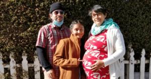 Cynthia, Larissa, and Norman